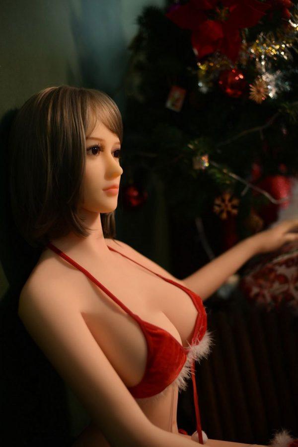 Realistic big breast sex Doll for men