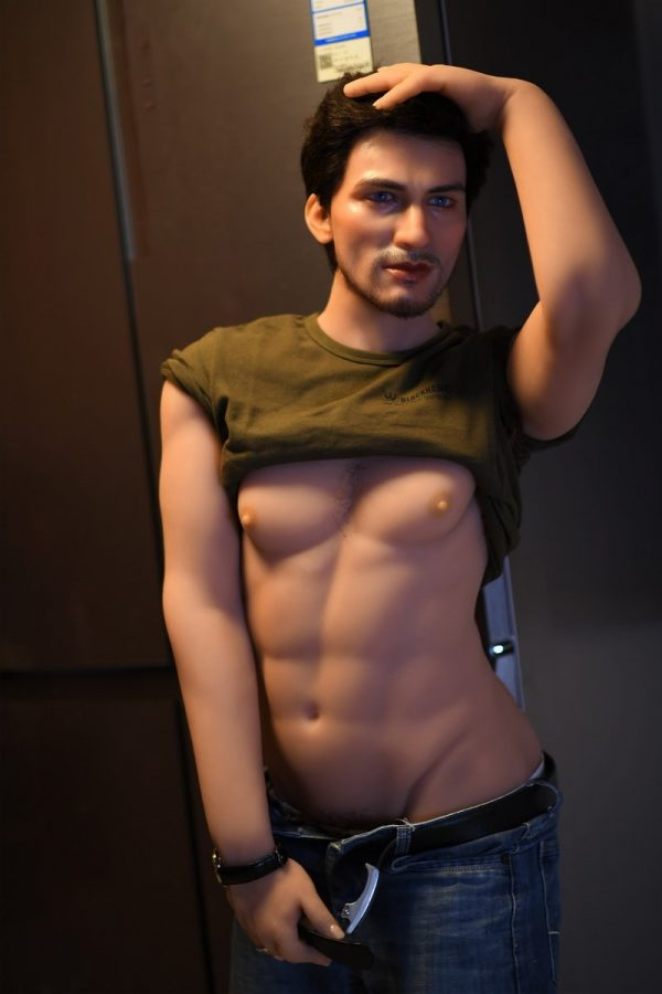 Silicone Muscular Male Sex Doll