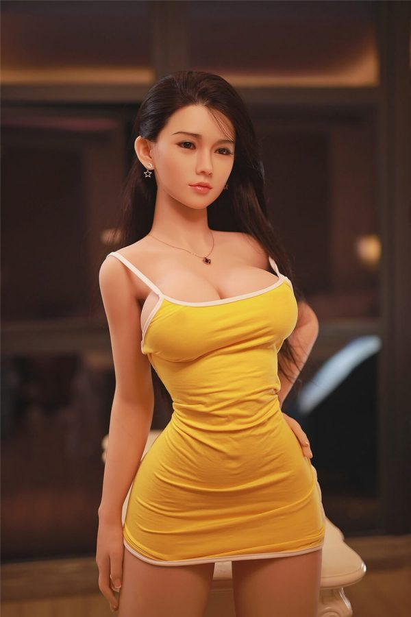 Brittany — Asian Silicone Sex Doll